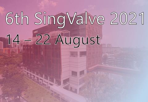 SingValve 2021 event thumbnail