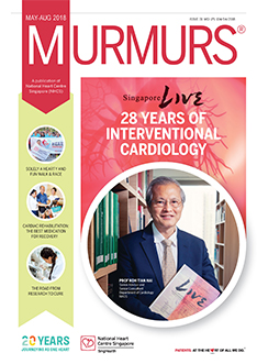 Murmurs newsletter Issue 31 (May - Aug 2018)